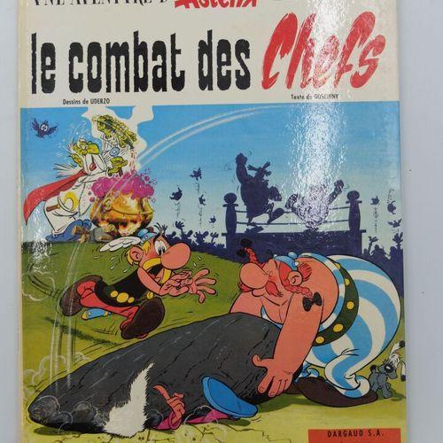 ASTERIX  7, Le Combat des chefs, 1966, Dargaud (Edition sans les initiales des P…