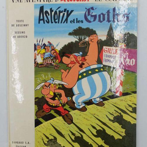 ASTERIX  3. Astérix et les Goths, 1963, Dargaud.