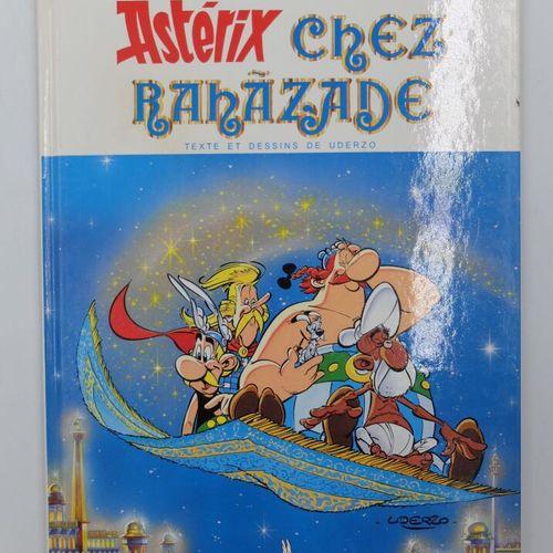 [ALBERT RENE] Astérix Ensemble de 9 Bandes dessinées.  25. Le Grand fossé, 1980.…