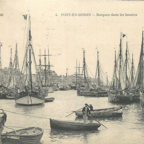 114 CARTES POSTALES & PHOTOS LES BATEAUX : France, Etrangers, 76+2 Carnets Batea…