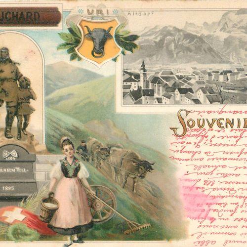 118 CARTES POSTALES & PHOTOS EUROPE : Allemagne, Autriche, Italie et Suisse. Don…