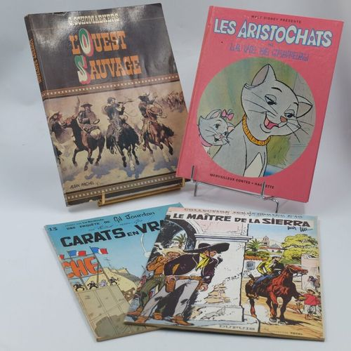 [DIVERS EDITEURS]. Ensemble de 4 Bandes dessinées.  COLLECTION JERRY SPRING 10. …