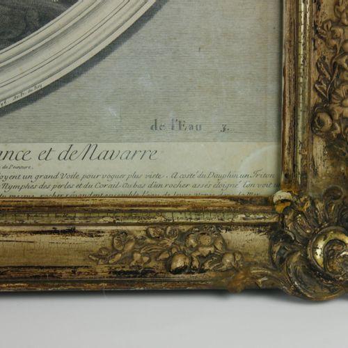 D'après Francesco ALBI, gravé par Estienne BAUDET:  Les quatre éléments  Suite …