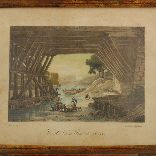 D'après Louis Albert Ghislain BACLER D'ALBE (1761 1824)  Deux gravures en couleu…