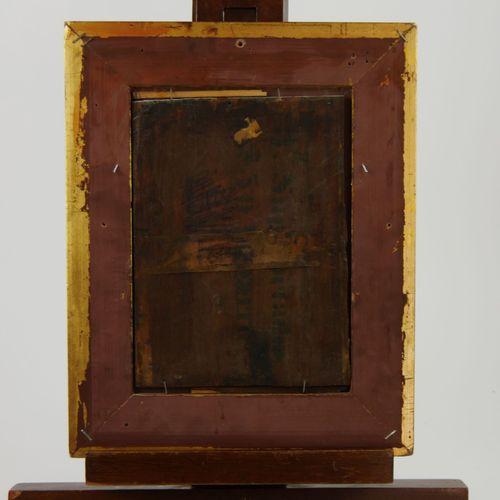 Ecole française du XIXème siècle  Paysage de campagne  Huile sur panneau  20 x 1…