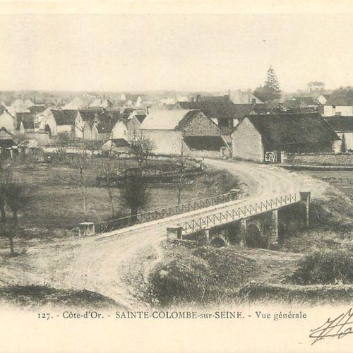161 CARTES POSTALES COTE D'OR : Villes, qqs villages, qqs animations, qqs sites,…