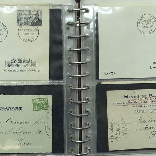 PHILATELIE *Frais Judiciaires 14,28 % TTC 2 Albums + 1 Boite : Étude sur les ble…