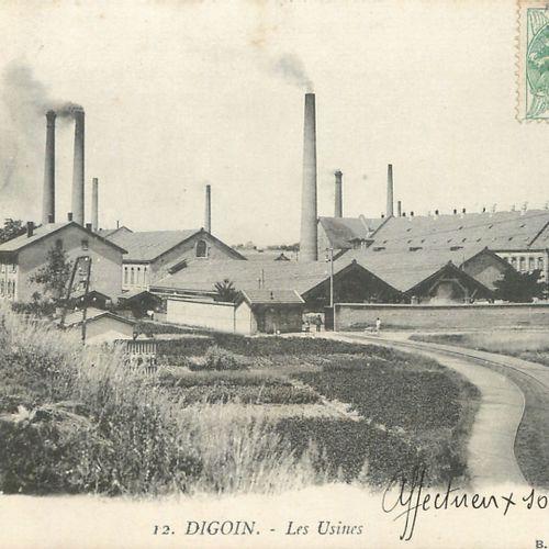 """6 CARTES POSTALES USINES : Petite Sélection. """"Bar sur Aube Les Tanneries sous la…"""