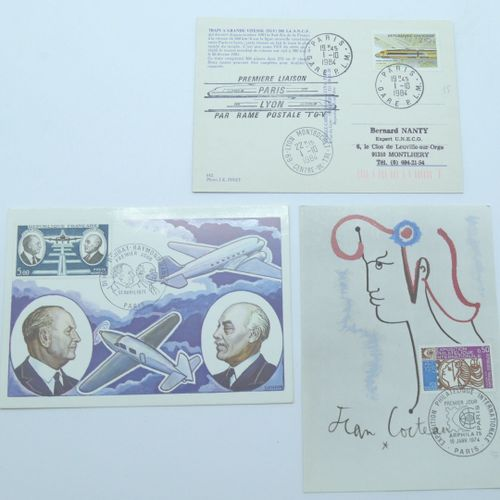 PHILATELIE Un ensemble comprenant enveloppes des Colonies et FDC.    Expert : Lo…