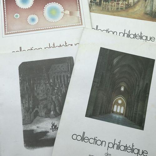 PHILATELIE 9 Albums + Enveloppes : France SM et Moderne dont Samothrace*, Facial…