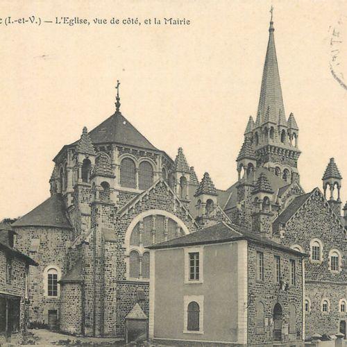 155 CARTES POSTALES ILLE ET VILAINE : De S à Fin. Villes, qqs villages, qqs anim…