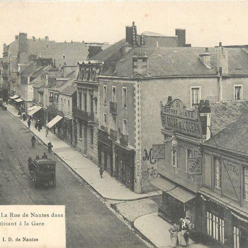 289 CARTES POSTALES LOIRE ATLANTIQUE : De P à Fin. Villes, qqs villages, qqs ani…