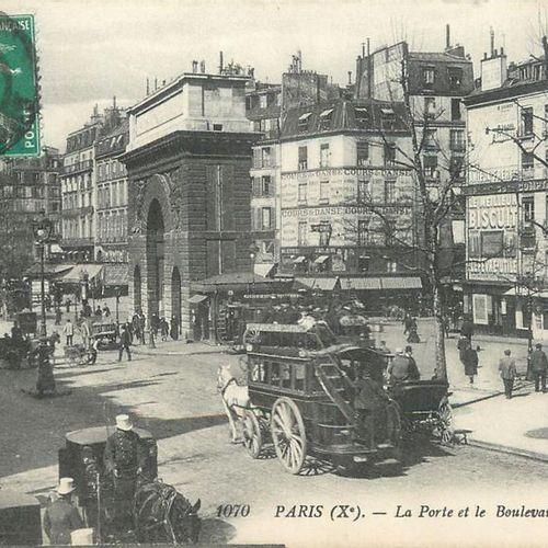 93 CARTES POSTALES LOCOMOTIONS : France & qqs Etrangers. Automobiles, Boeufs, An…