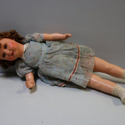 Antique doll Paris 301 n°12 mobile eyes H 65 cm