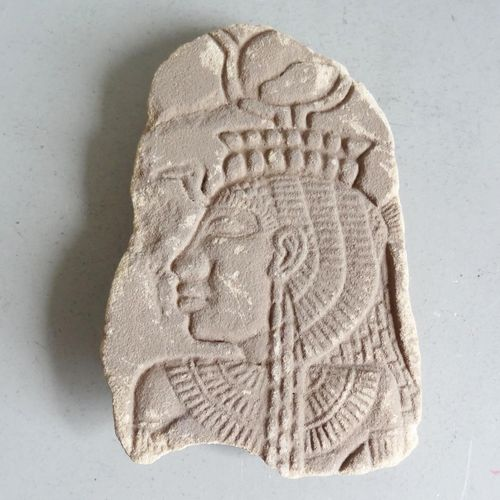 EGYPT, according to Ancient Egypt  Sandstone panel carved with a profile of Phar…