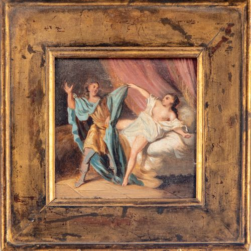 19th century FRENCH SCHOOL in the spirit of Fragonnard  Joseph and Putiphar's wi…