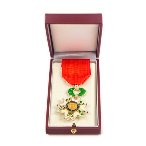 Enamelled medal of the Legion of Honour  New condition in its box