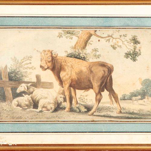 ECOLE HOLLANDAISE XIXe ECOLE HOLLANDAISE début XIXe, suiveur de Paulus Potter  V…