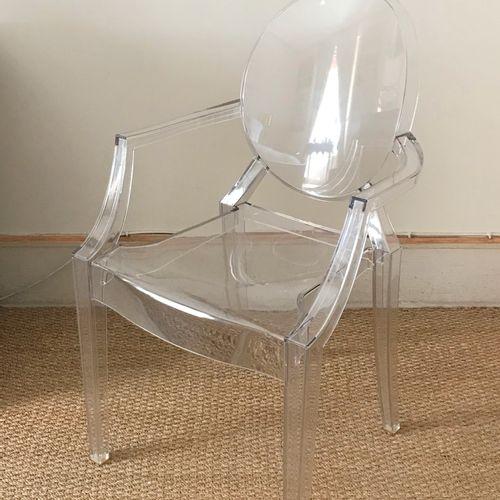Philippe STARCK Philippe STARCK Kartell  Fauteuil Louis Ghost en polycarbonate t…