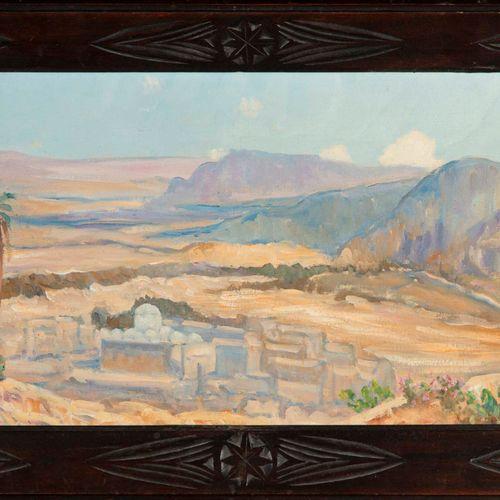 MAURICE CANET Maurice CANET (1875 1959)  Haut plateau de Kabylie  Huile sur toil…