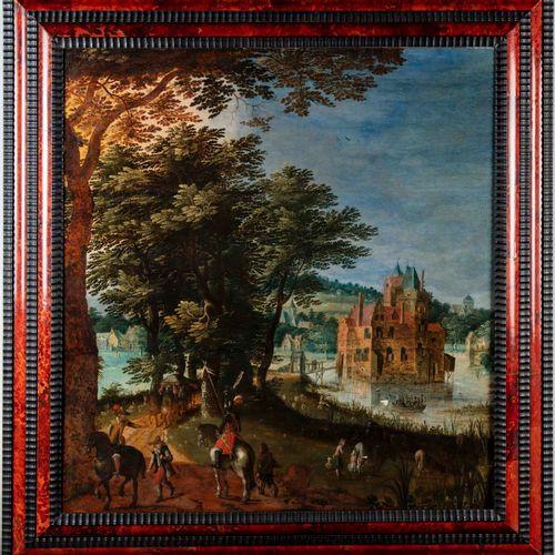 JACQUES VAN DER WYHEN Attribué à Jacques Van der WYHEN (c. 1588 mort après 1658)…