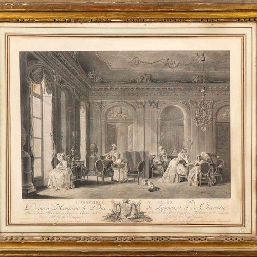 LAVREINCE D'après Lavreince, gravé par François Dequevauviller (1745 1817)  L'As…