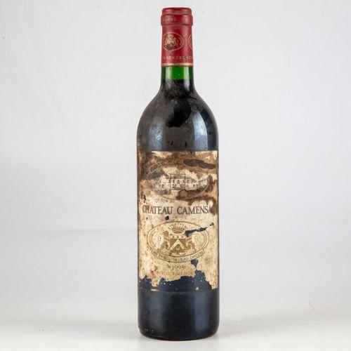 1 bouteille CHATEAU CAMENSAC 1993 Haut Médoc  Niveau très léger bas  Etiquette t…
