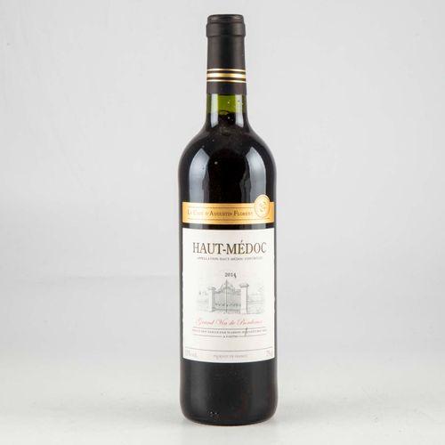 1 bouteille CAVE D'AUGUSTIN FLORENT 2014 Haut Médoc  Niveau Bon