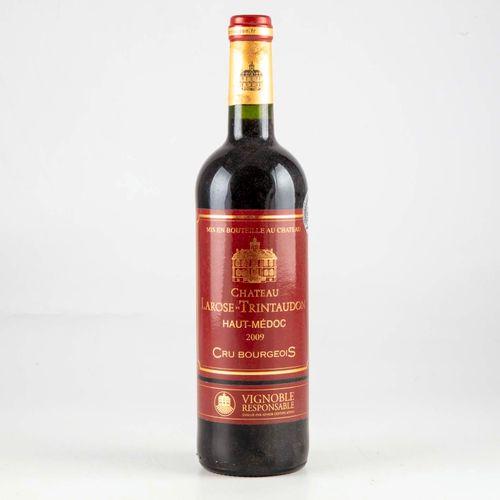 1 bouteille CHATEAU LAROSE TRINTAUDON 2009 Haut Médoc  Niveau bon  Etiquette en …