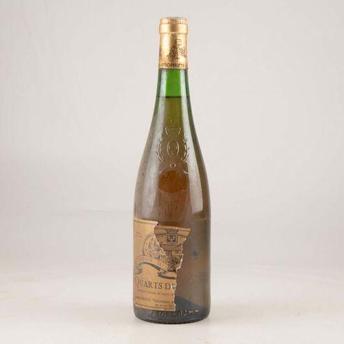 1 bouteille QUARTS DE CHAUME 1984 Joseph Renou  Niveau léger bas  Etiquette déch…