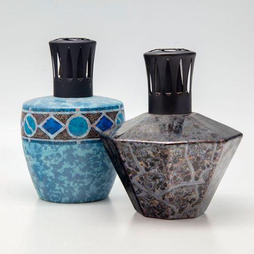 CASENOVE Pierre CASENOVE  Deux lampes Berger en céramique des modèles 5093 et et…