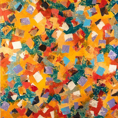 VALENTINER Peter VALENTINER 1941  Composition patchwork  Technique mixte  Signat…