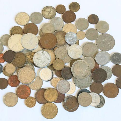 Ensemble de pièces de monnaie de divers pays ( période avant et après guerre) Ho…