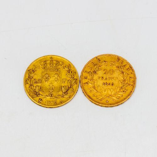 2 x 20 francs or Napoléon III