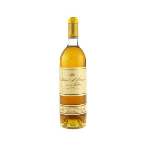 1 B CHATEAU D'YQUEM (B.G. ; e.L.S.) Sauternes 1er CC supérieur 1979