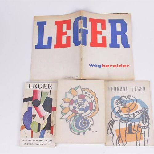 Léger, Wegbereider, Catalogue de l'exposition du 11 décembre 1956 au 28 janvier …