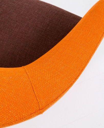 FEDERICO MUNARI. Wooden and fabric sofa. '50s FEDERICO MUNARI. Wooden sofa and b…