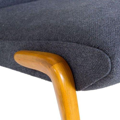 OSVALDO BORSANI for TECNO. Two P71 armchairs. OSVALDO BORSANI (Varedo, 1911 Mila…