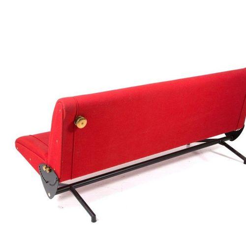OSVALDO BORSANI for TECNO. Sofa bed D70. '60s OSVALDO BORSANI (Varedo, 1911 Mila…
