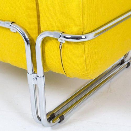 ANDRIES VAN ONCK UPIM. Pair of steel armchairs ANDRIES VAN ONCK (Amsterdam, 1928…