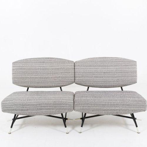 ICO PARISI for CASSINA. Pair of armchairs 865 ICO PARISI (Palermo, 1916 Como, 19…
