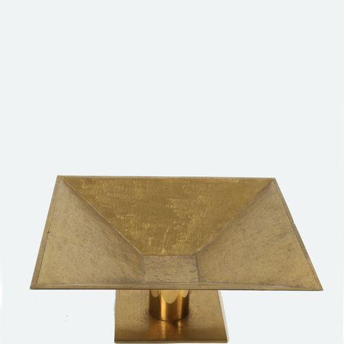 Golden plated bronze centrepiece. 20th century Sculpture de centre de table en b…