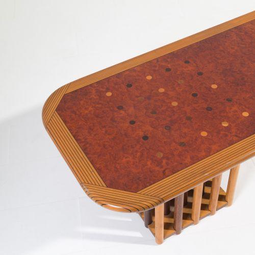 A.&T. SCARPA. Artona bench/coffee table. MAX ALTO AFRA(Montebelluna,1937年 Trevig…
