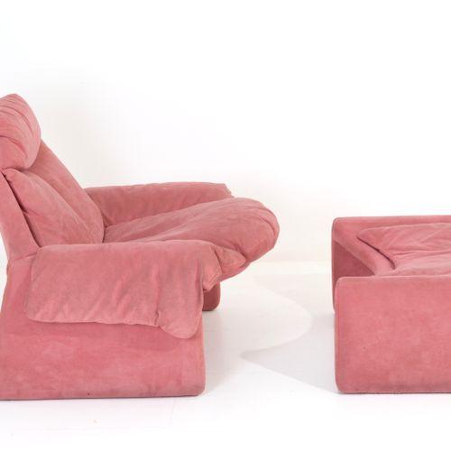 VITTORIO INTROINI. Pink armchair. SAPORITI VITTORIO INTROINI (1935) pour SAPORIT…