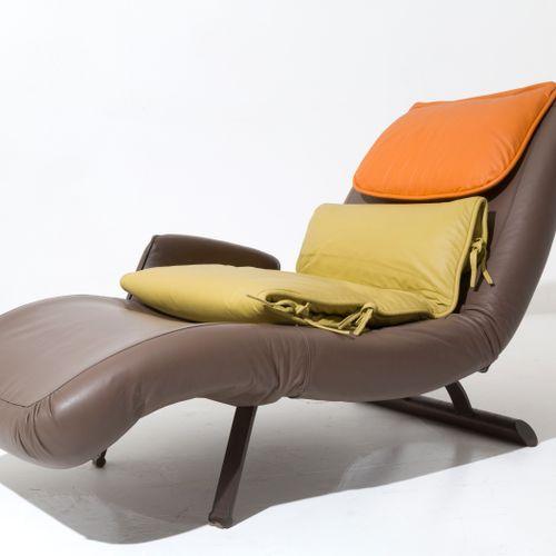 GIOVANNI OFFREDI. Chaise longue. SAPORITI. 1970s GIOVANNI OFFREDI (Milan, 1927 2…