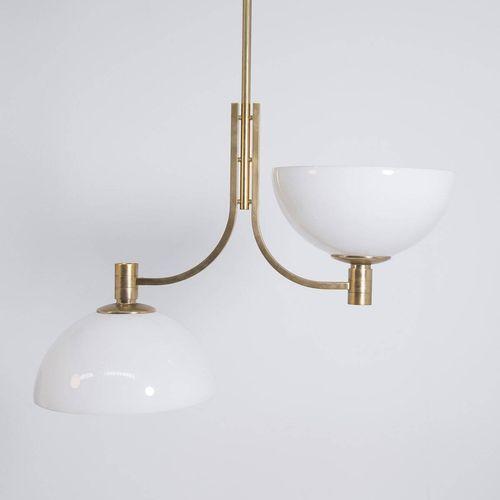 ALBINI&HELG. Glass chandelier. SIRRAH. 1970s FRANCO ALBINI (Robbiate, 1905 Milan…