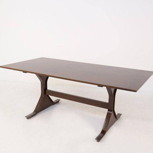 GIANFRANCO FRATTINI for BERNINI. Dining table 522 GIANFRANCO FRATTINI (Padua, 19…