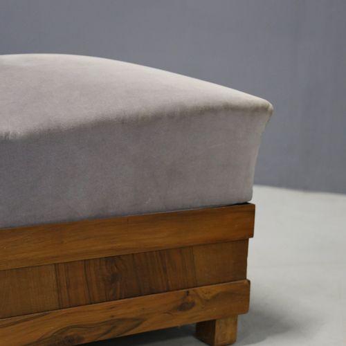 ALFIO FALLICA. Pair of Art Deco velvet armchairs ALFIO FALLICA (Paternò, 1898 Ca…