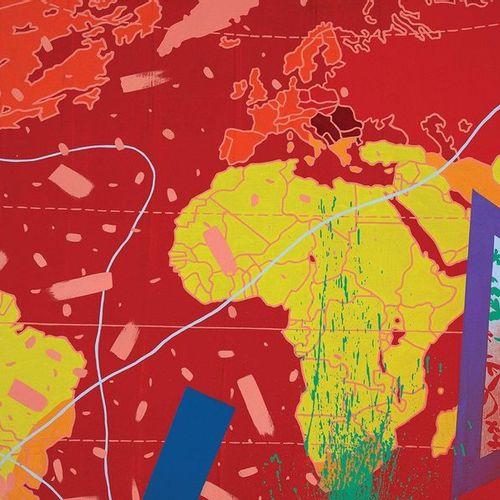 Gérard FROMANGER (Né en 1939) La Vue, de la série Tout est allumé, 1979 Huile su…
