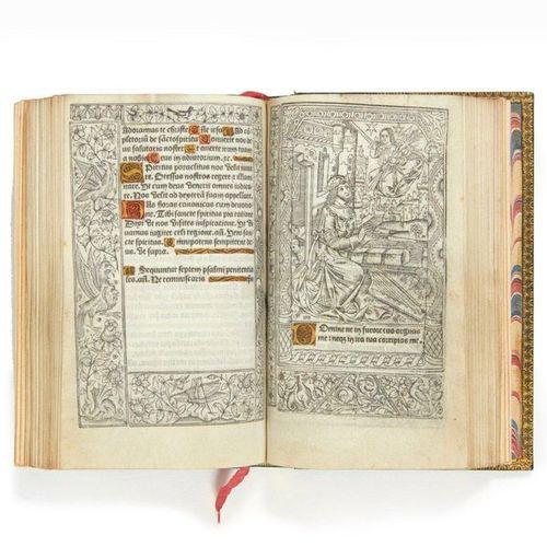HORAE. [Heures à l'usage de Paris.] Paris, Philippe Pigouchet, 1488. In 8 (161 x…